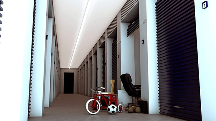 storage unit and soccer ball for times when you should use self storage
