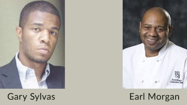 Gary Sylvas and Earl Morgan