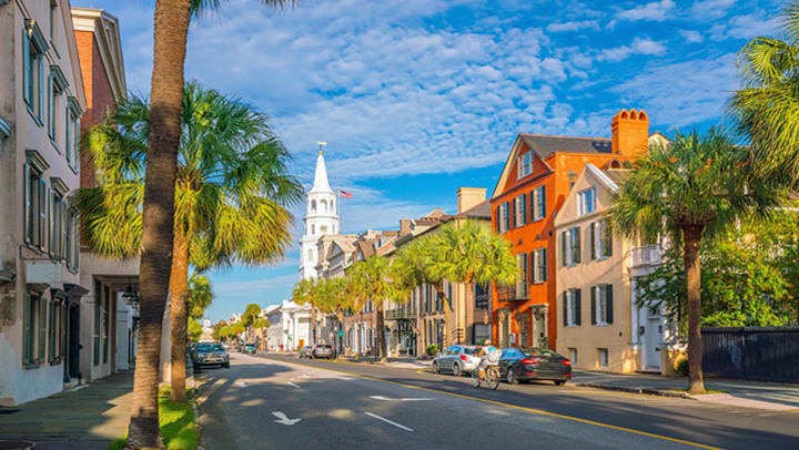 moving to Charleston SC