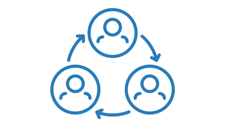 Social connections icon for Oxford Senior Living