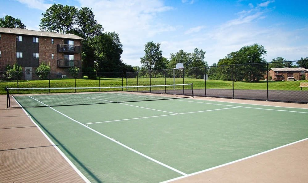 Tennis court at High Acres Apartments & Townhomes in Syracuse, New York