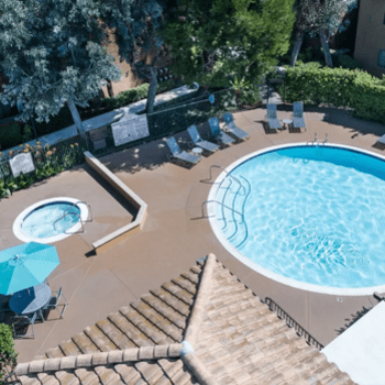 The Villas at Rowland Heights offers a swimming pool in Rowland Heights, CA