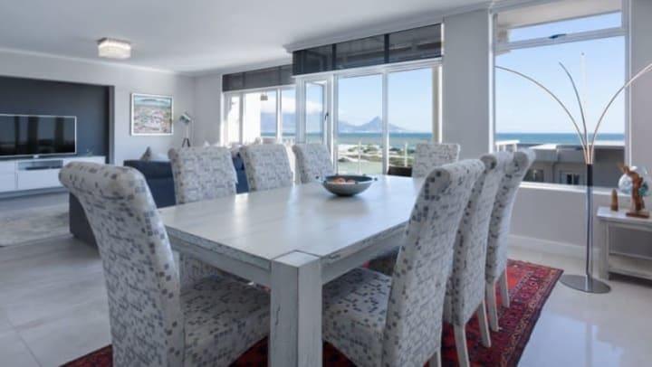 Minimalist dining room at Apple Self Storage