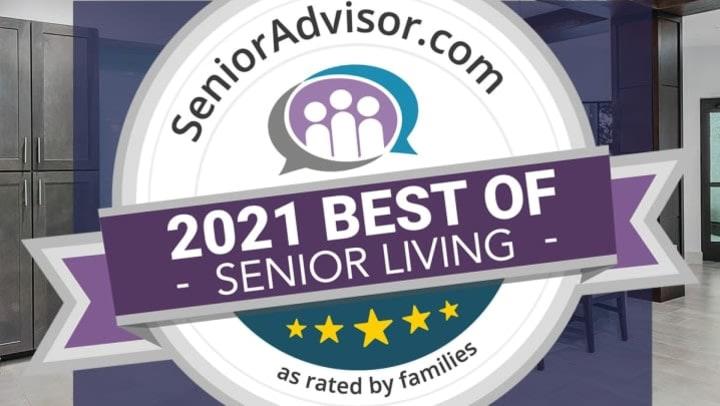 2021 Best of Senior Living logo