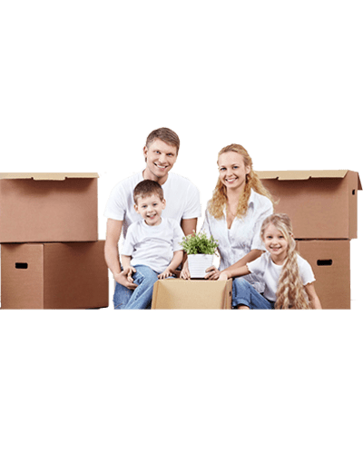 Happy family at Storage Inns, Inc.