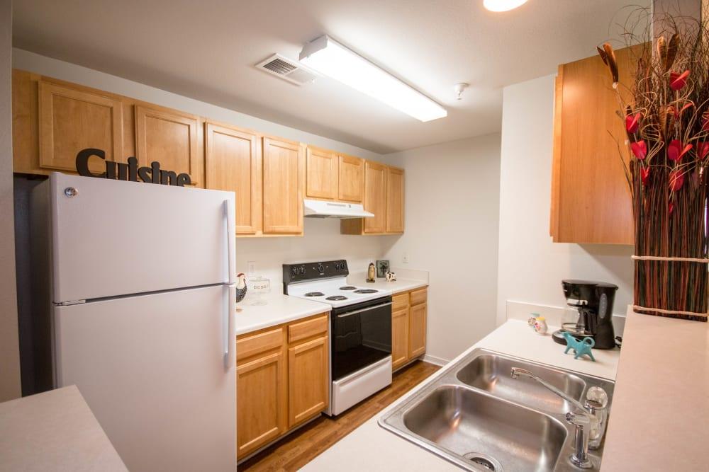 Wonderful kitchen at Longhill Grove in Williamsburg, Virginia
