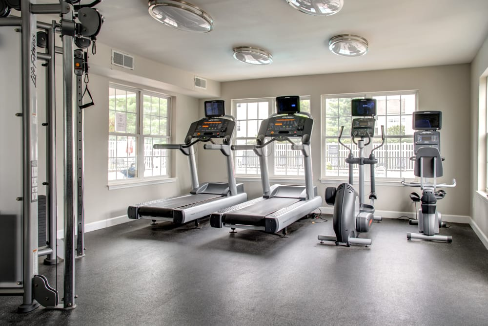 Exercise facility at apartments in Florissant, MO