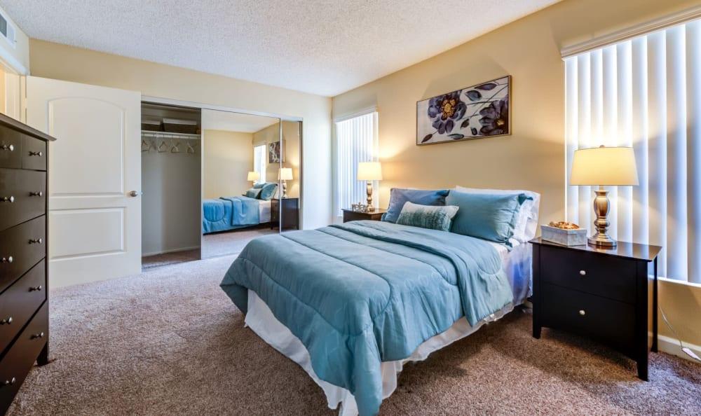 Bedroom at The Ritz in Studio City, California