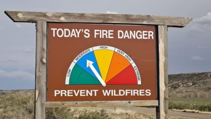 Wildfire Meter