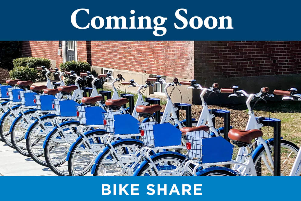 Bike Share at Tamarron Apartment Homes in Olney, Maryland