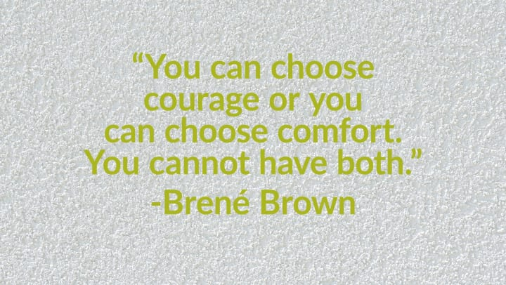 Brene Brown quotation