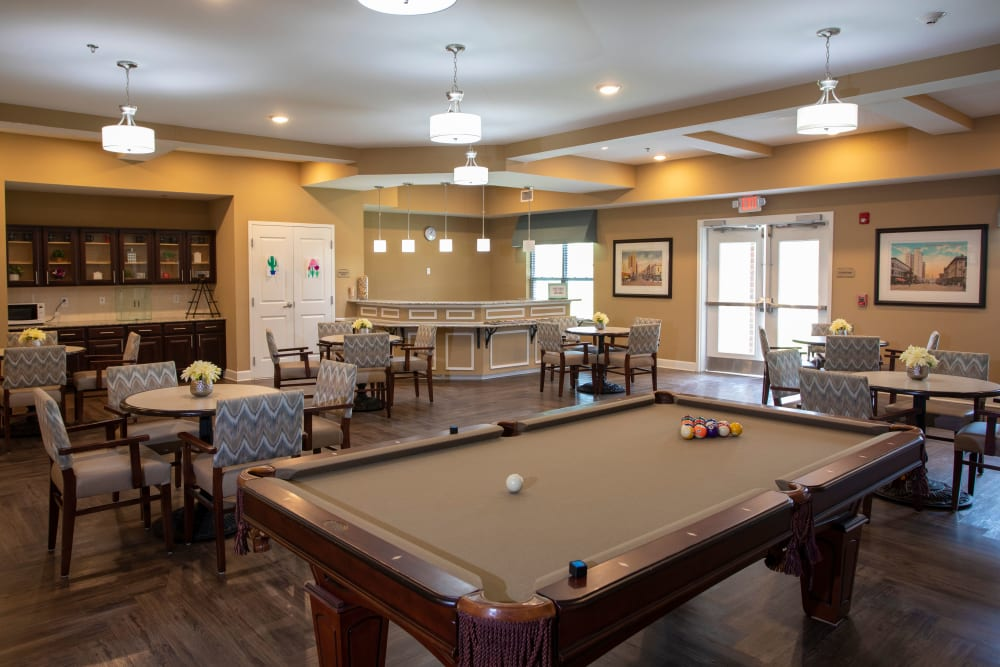The pub at The Harmony Collection at Columbia in Columbia, South Carolina