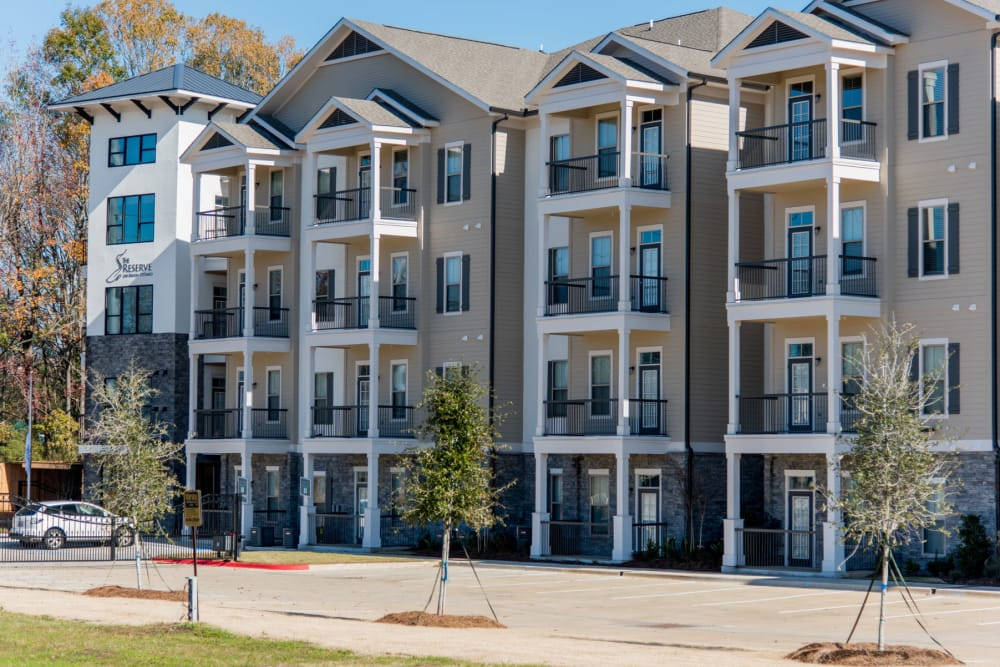 Luxury Apartments The Reserve on Bayou DeSiard in Monroe, Louisiana