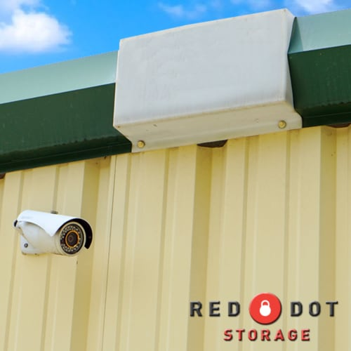 Security camera at Red Dot Storage in Rockford, Illinois