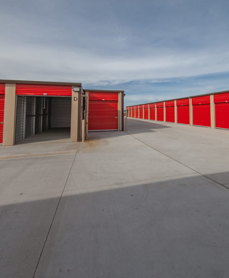 Outdoor units at StorQuest Express Self Service Storage in South Lake Tahoe, California