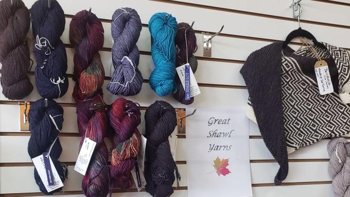 Got Your Goat Yarn Studio yarns