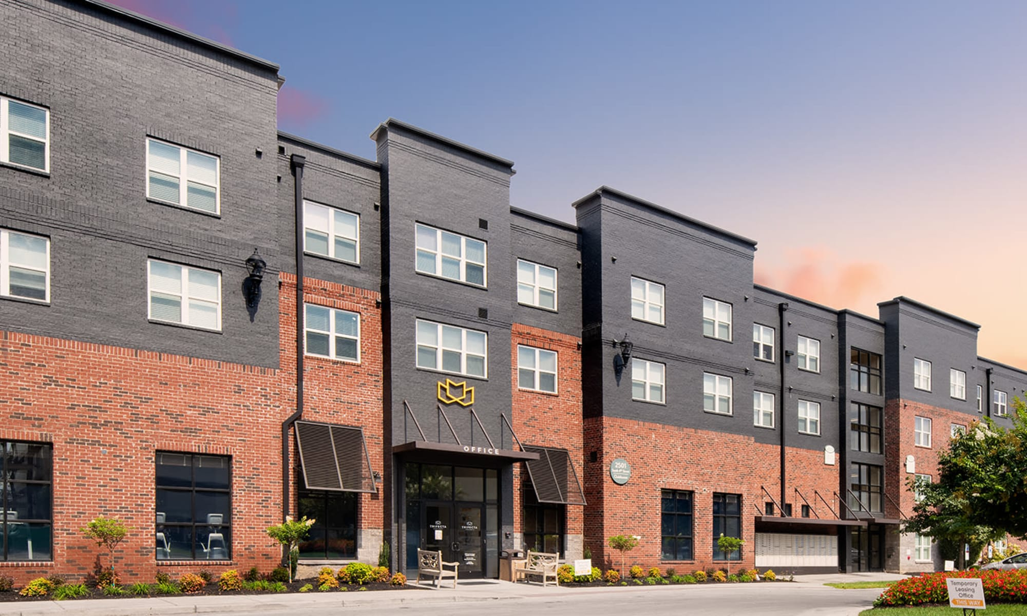 Trifecta Apartments - off campus student housing in Louisville, Kentucky