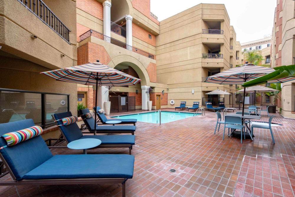 Pool at Sofi at 3rd in Long Beach, CA