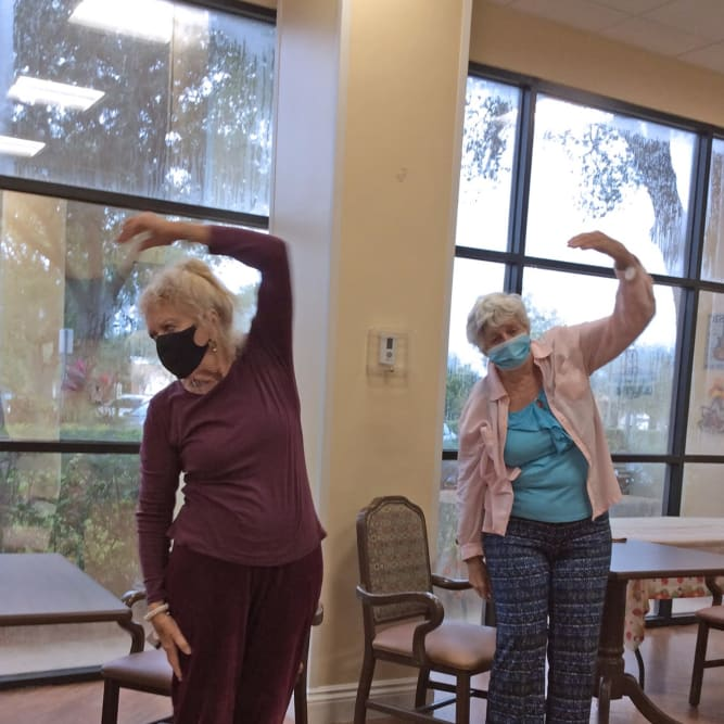 Residents Exercise