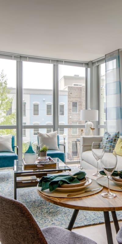 Open concept floor plan at Harlow in Washington, District of Columbia