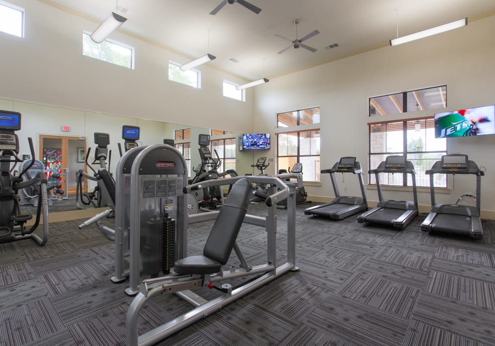 Ethos Apartments offers a state-of-the-art fitness center in Austin, Texas