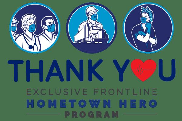 Thank you hometown heroes from 4127 Arcadia in Phoenix, Arizona