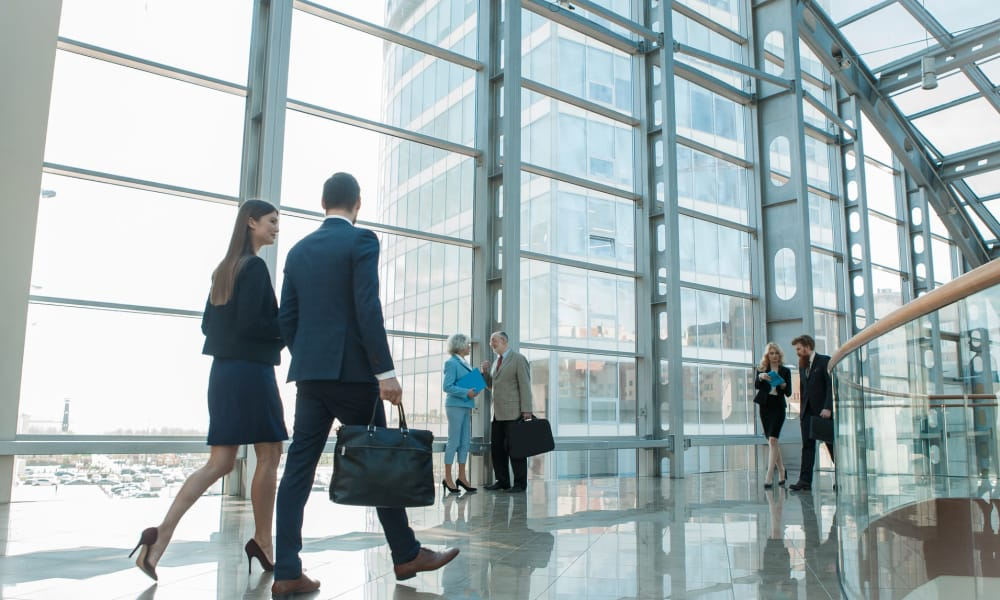 businesspersons in the workplace
