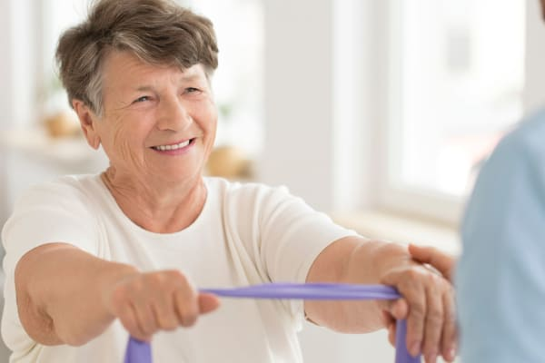 Exercise programs at Sandpiper Courtyard