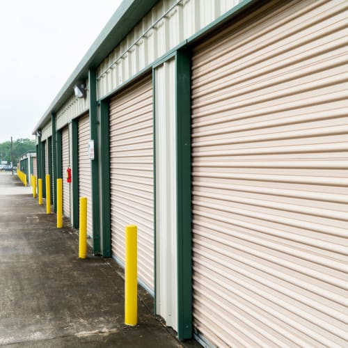 Climate controlled storage units at Red Dot Storage in Baton Rouge, Louisiana