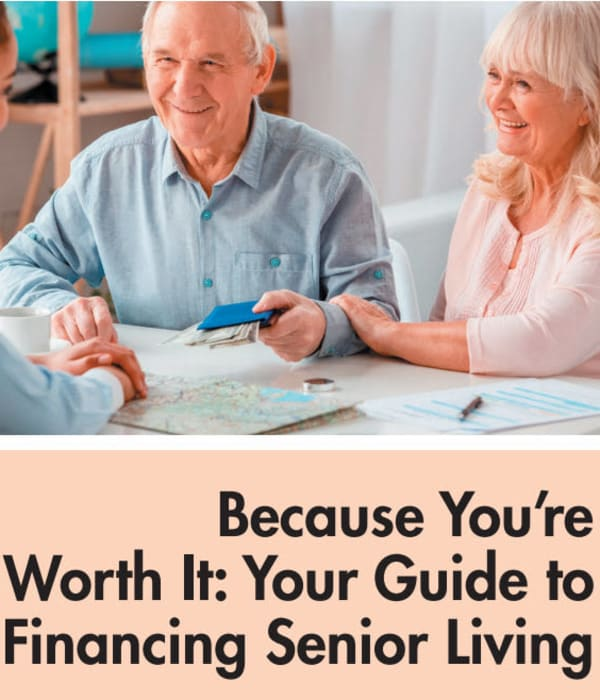 Senior living financial guide at The Claiborne at Brickyard Crossing in Summerville, South Carolina