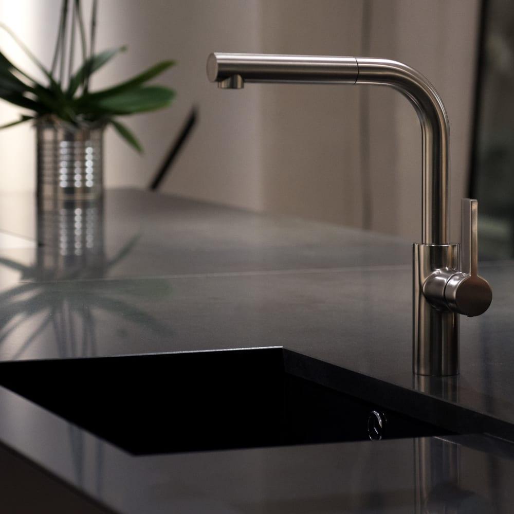 Enchanted Springs Apartments's kitchen sink in Colorado Springs, Colorado