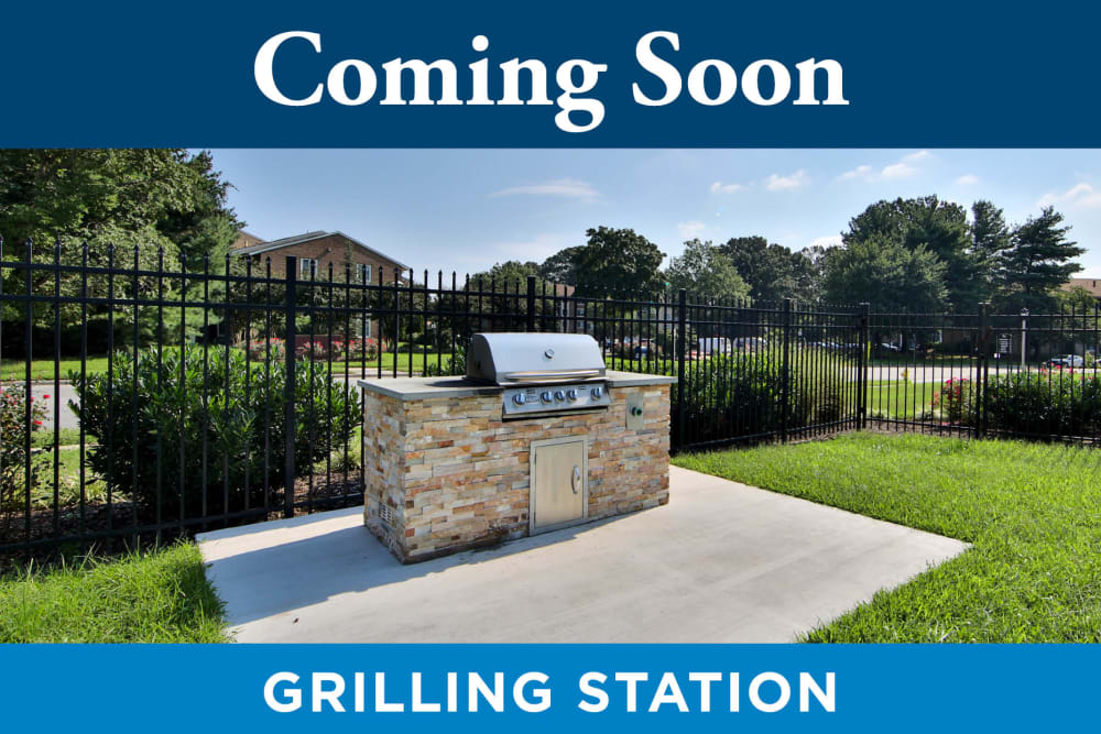 Grilling Station at Tamarron Apartment Homes in Olney, Maryland