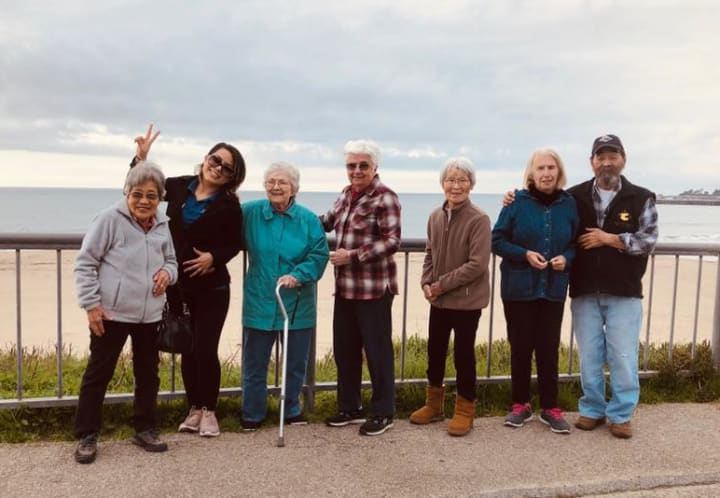 Westwind Residents at The Beach