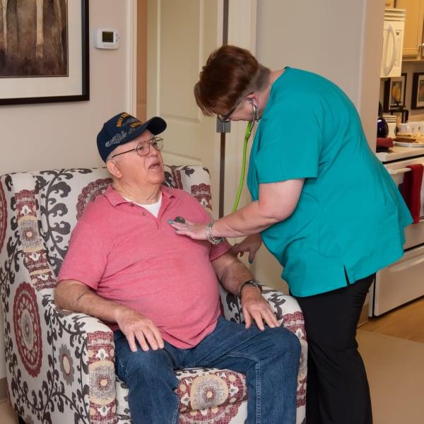 Skilled Nursing at Careage Home Health in Bellevue, Washington.