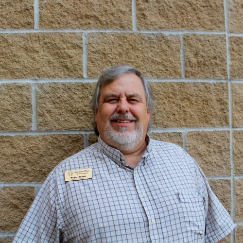 Roger Adams, Maintenance director at Keystone Place at Forevergreen in North Liberty, Iowa