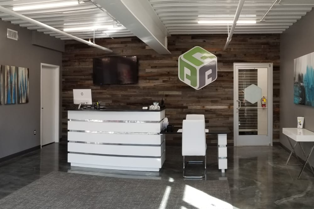 Office at AAA Self Storage at N Elm