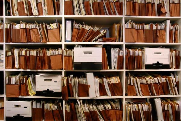 Business file storage at ABC Mini Storage in Washington