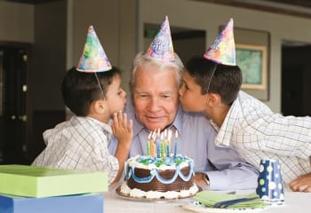 Birthday parties are special at Blue Ridge Assisted Living