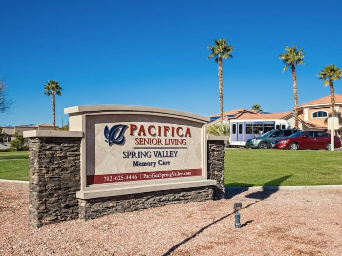 street view of Pacifica Senior Living Spring Valley in Las Vegas, NV