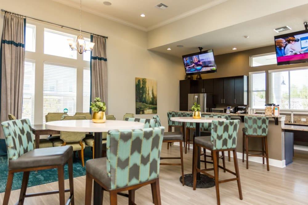 Clubhouse interior at Springs at McDonough in McDonough, GA
