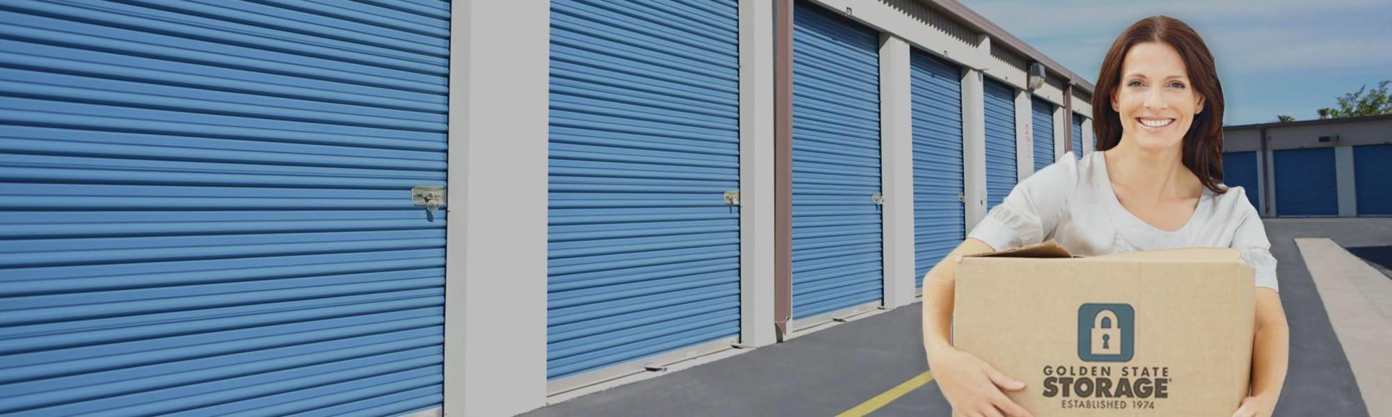 RV & Boat storage at Golden State Storage - Golden Triangle in Santa Clarita, California