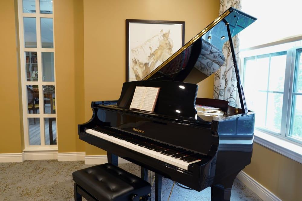 Piano at Harmony at Morgantown in Morgantown, West Virginia
