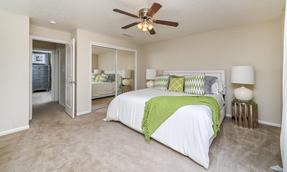 Spacious Bedroom at Park at Lake Magdalene Apartments & Townhomes in Tampa, Florida