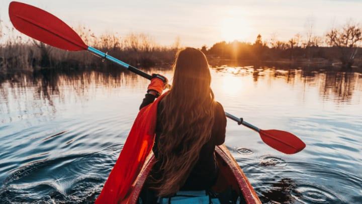 Storing SUPs and Kayaks