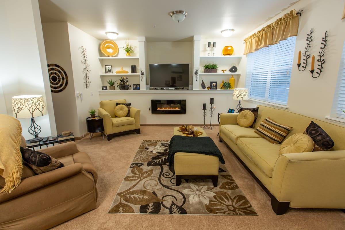 Spacious bedrooms at Camellia Gardens Gracious Retirement Living in Maynard, Massachusetts
