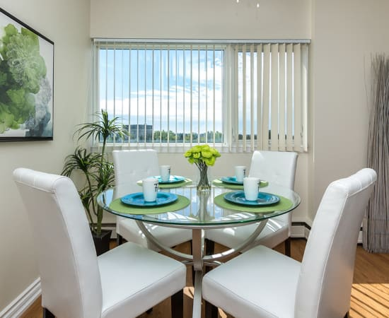 Enjoy the beautiful view from Glenmore Heights apartments