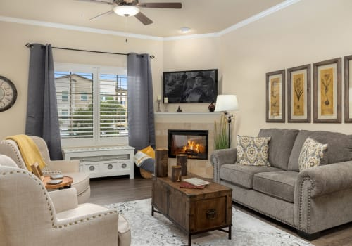 Floor plans at The Park at Modesto Independent Living Community
