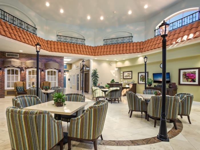 Enjoy our common hall at Pacifica Senior Living Spring Valley in Las Vegas, NV
