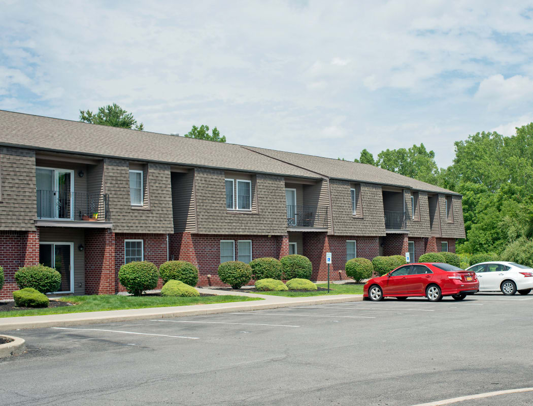 Parking Lot Exterior View at Glenmont Manor in Glenmont, NY