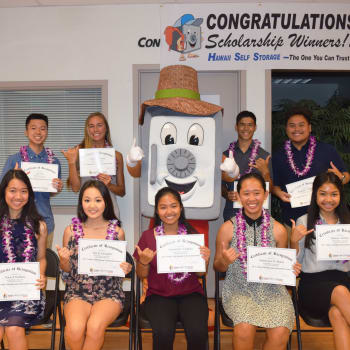 Learn more about our student scholarships program at Hawai'i Self Storage